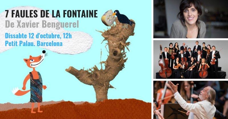Les faules de La Fontaine arriben aquest dissabte al Petit Palau amb música de Xavier Benguerel