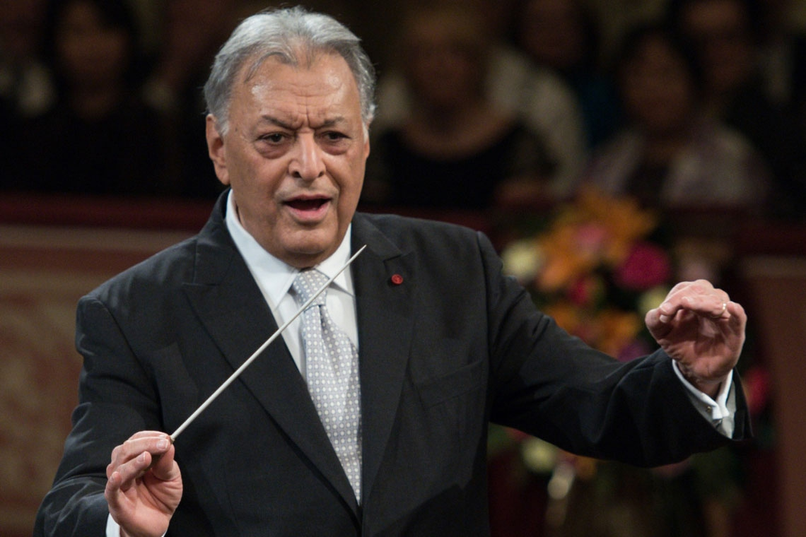 Filarmónica de Viena y Zubin Mehta