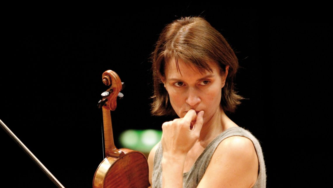 Dvorak's Ninth, Viktoria Mullova and the Bamberg Symphony