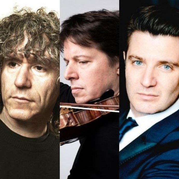 El trio formado por Joshua Bell, Steven Isserlis y Alessio Bax llega al ciclo BCN Clàssics
